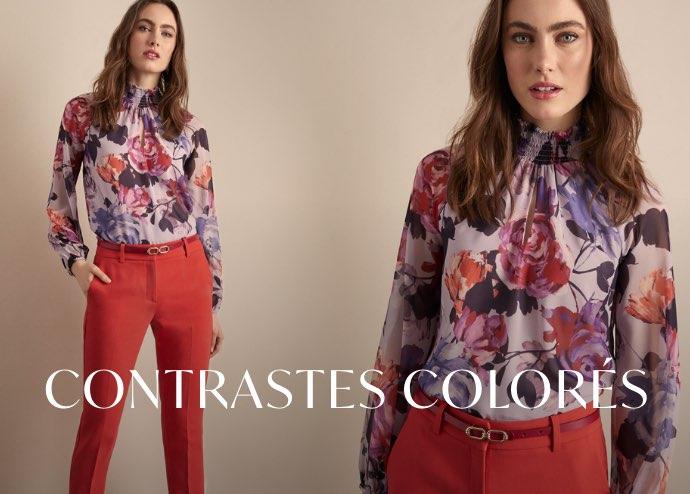 Contrastes colorés