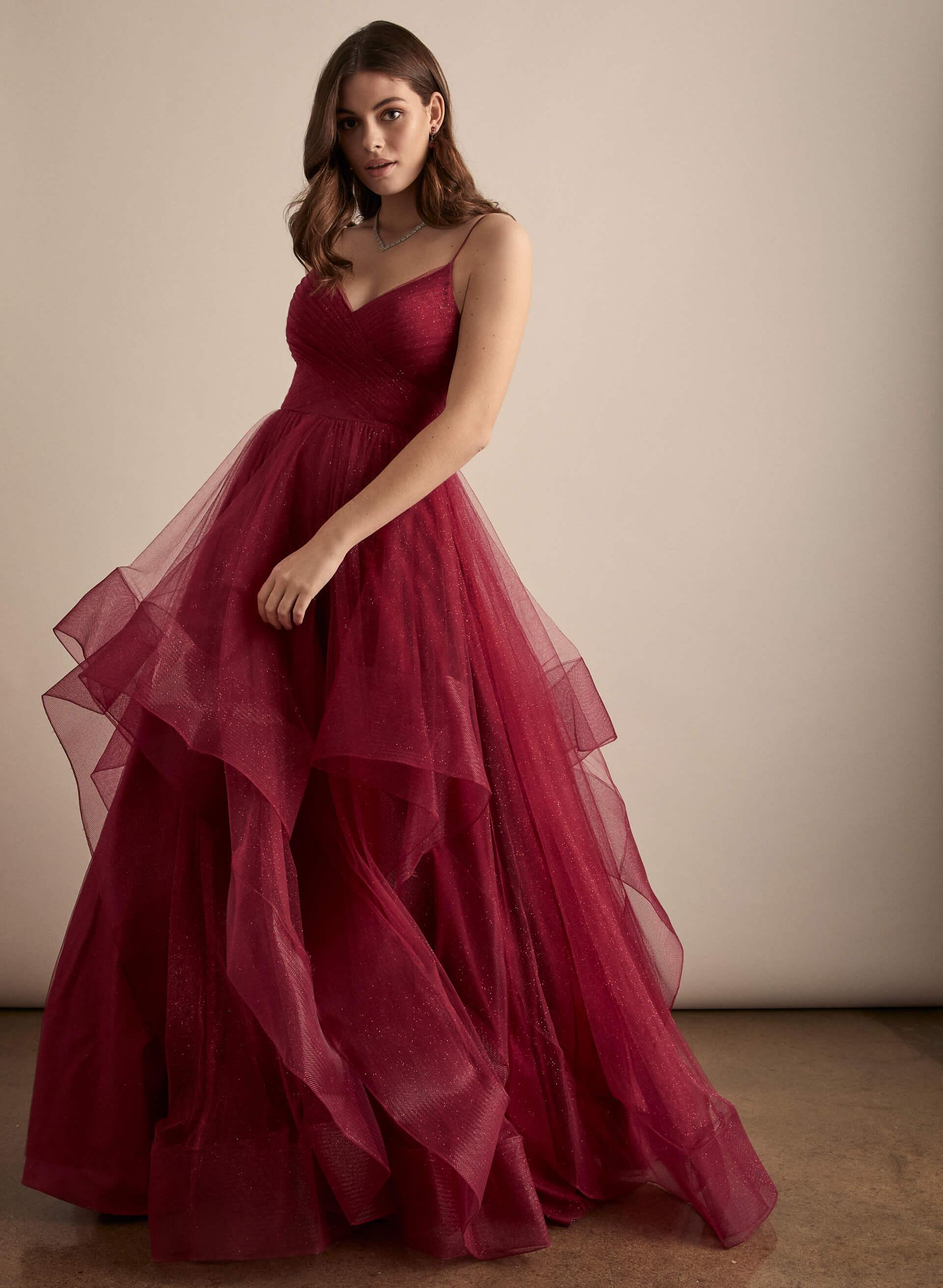 Prom - Melanie Lyne - 2020 - Terani Couture - Robe de bal pailletée en tulle